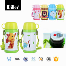 colorful insulated baby bottle stainless steel vacuum flask thermos