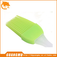 Silicone Pastry Brush Green By Big Bang Cooking - the Perfect Baster or Basting Olive Oil, Butter, BBQ Sauce, Honey on Your Meat