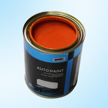 OEM supported fast drying heat resistant automotive metallic paint colors