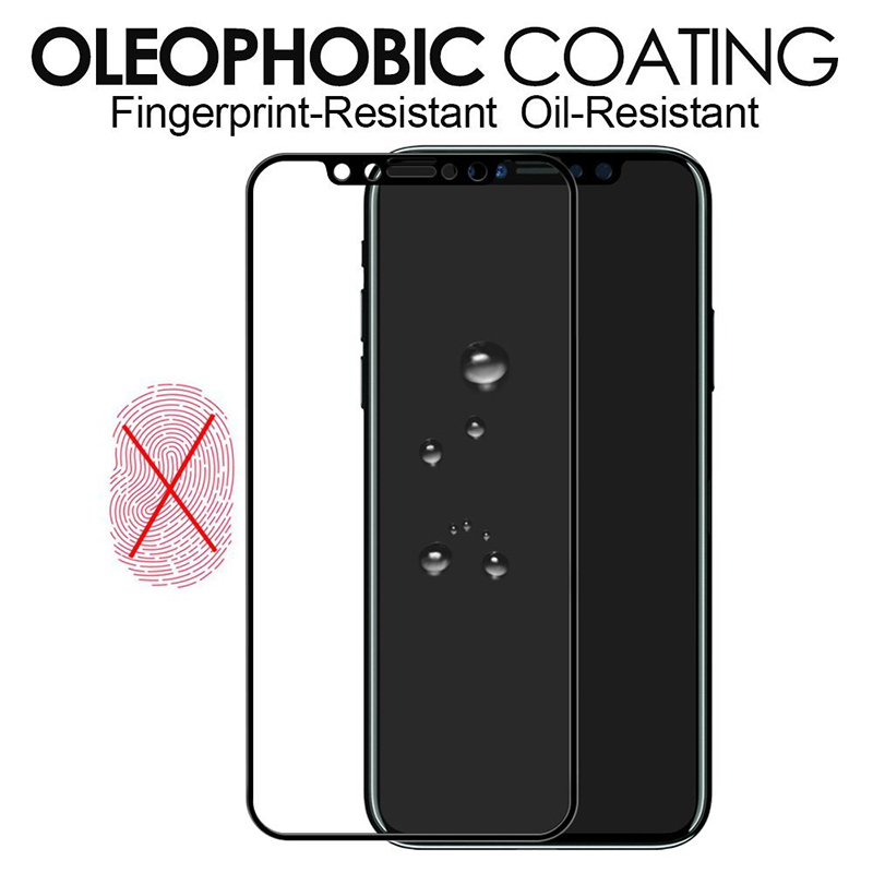 2017 Newest 3D curved full cover tempered glass mobile phone screen protector for iPhone 8
