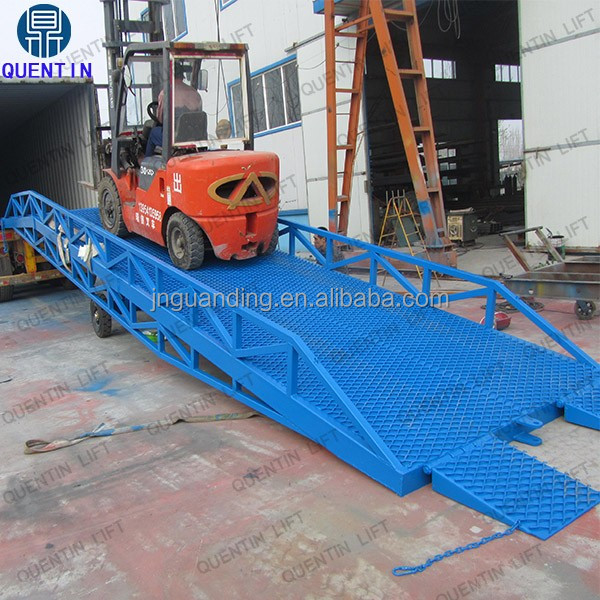 10ton hydraulic lift mechanism electrical hydraulic dock leveler