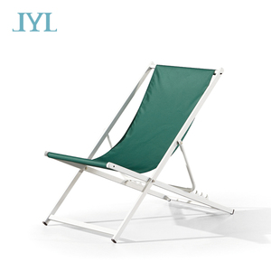 Simple outdoor beach furniture chaise lounger with high quality foldable chair