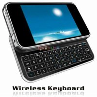 Noble design Mini Portable Bluetooth Sliding QWERTY Keyboard Case for iPhone 4 support ipad 2 iphone 4G PC PDA PS3 MAC APPLE