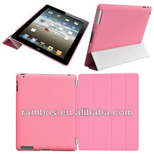 For iPad Air Case with Back Cover Protective Smart Cover Magnetic Case with Stand