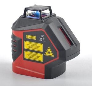 2019 New arrive GVDA Self-Leveling 360 3D Rotary 5 cross lines Green Beam Laser Level with 2 Plumb Dots