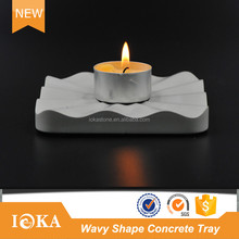 Homeware Cement Tray Candle Holder Wedding Table Decorations