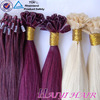 wholesale full thick ends pre bonded tip keratin hair extension