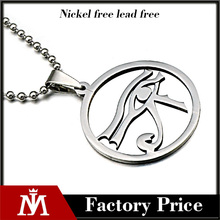 Wholesale 316L stainless steel custom made jewelry tear drop dog tag charm necklace