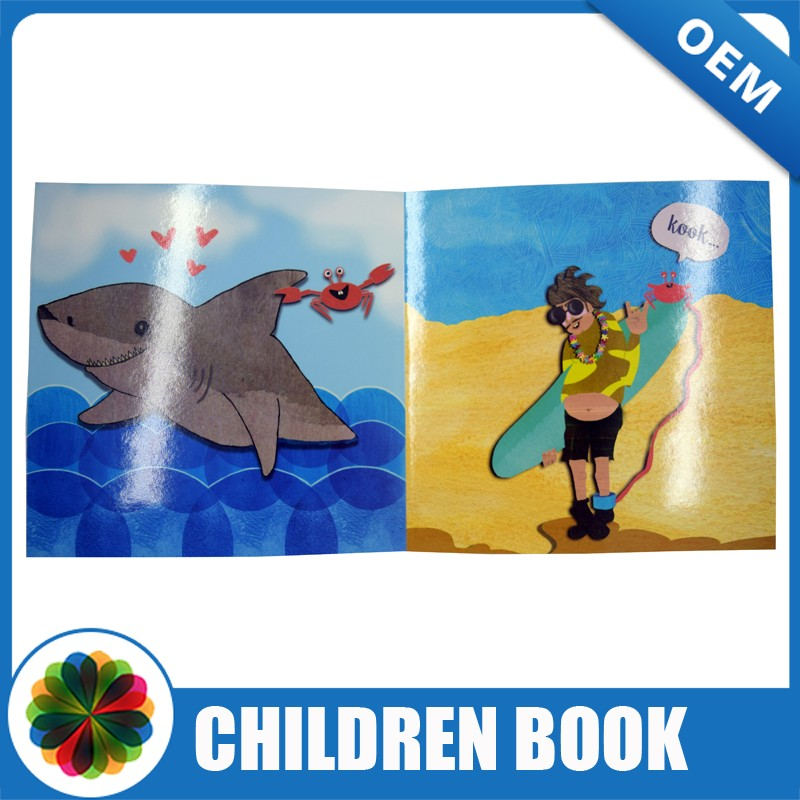 Hot Sale English Story Child Book Hardcover Child Book printing