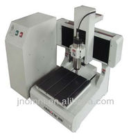 Jinan OMNI mini cnc 3d router for wood, acrylic, pvc, glass, MDF, aluminium, brass,etc.