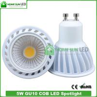 LEDs lamp GU10 220 voltage warm white dimmable