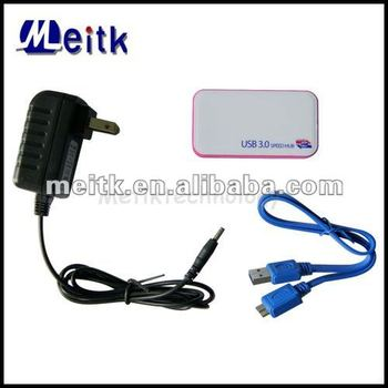 USB 3.0 Hub Compatible with USB3.0/USB2.0/1.0
