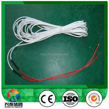 200C heating cable for making heating pad