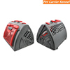 The Travel Master Pet Carrier,Modular Design Cat Cage Can Folds Quckly and Store Anywhere Travels Foldable Dog Travel Crate