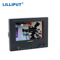 High Resolution 5 Inch Camera Top Monitor With HDMI / Component LCD Camera Monitor