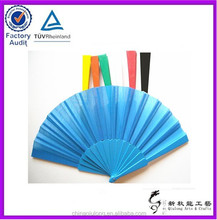 pictures of girls naked promotional plastic hand fan with fabric
