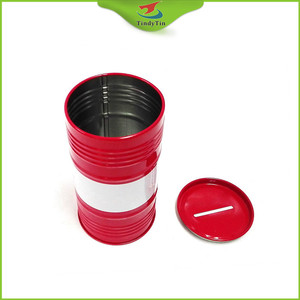 Custom tin box for kid's saving from China tins factory