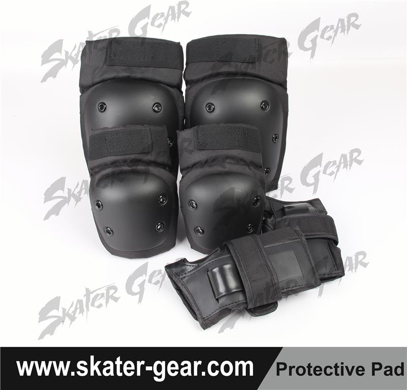 SKATERGEAR skating safety knee elbow pads high quality knee pads elbow pads wrist guard