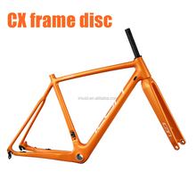 Carbon Cyclocross CX bike Frame with Flat mount