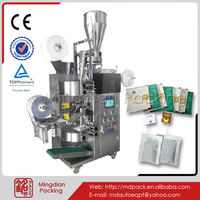 MD168 Automatic make thread with tag ,filter tea bag,outer bag packing machine