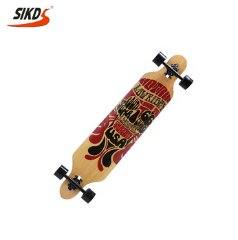 Drop through longboard factory directly OEM long board