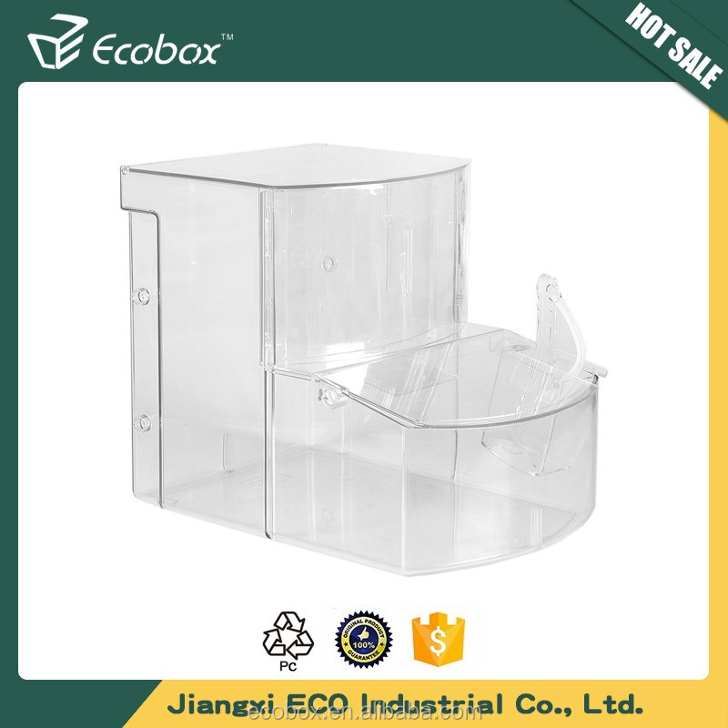 Cheap Store wholesale candy box plastic containers