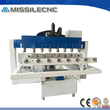 Woodworking cnc router 8 heads cylinder engraving machine