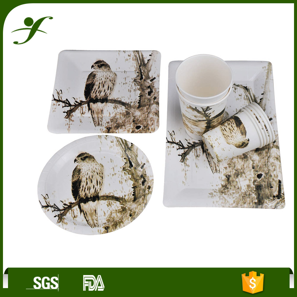 Hot sales bird paper plates