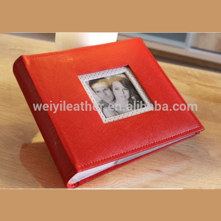 Factory Directly Sales Custom Durable PU Leather 12x18 Photo Album