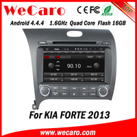 Wecaro WC-KU8051L Android 4.4.4 car stereo 1024 * 600 for kia forte radios WIFI 3G 16GB Flash 2013 2014