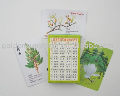 Shanghai Common plant Playing cards