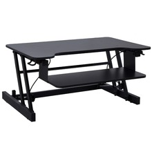 Manual Height Adjustable Standing Desk for Laptop
