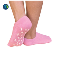 LTZ-II-1568 socks softener heels gel socks for dry feet