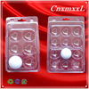 12 pack clear blister golf ball tray packaging
