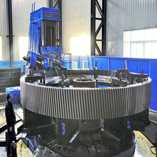 Customized cement rotary kiln girth gear, large gear ring with ISO 9001:2008 certification