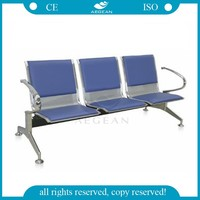 AG-TWC002 steel chairs airport chairs / waiting room chairs / hospital waiting room furniture
