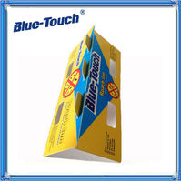 MSDS ISO Certificated cockroach glue trap for blue touch roach control