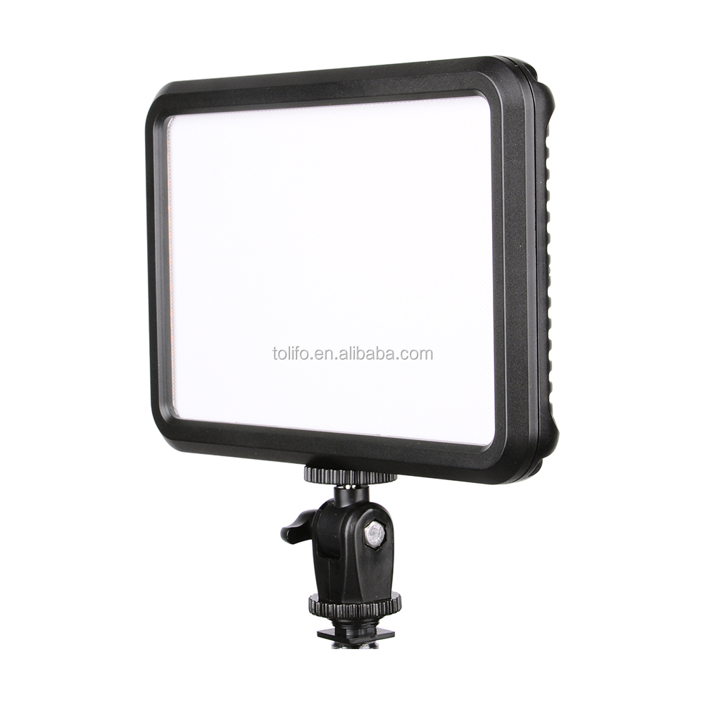 Ultra thin LED camera lights for camera light with digital display