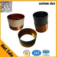 Subwoof Flat Wire Kapton Material For Customized Speaker Voice Coil
