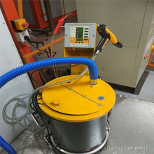 Professional powder coating gun for spray dead Angle