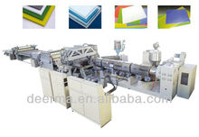 PE/PP Hollow Grid Sheet/Plate Extrusion Line