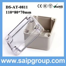 waterproof plastic boxes electronics flush mount type distribution box DSAT-0811 110*80*70