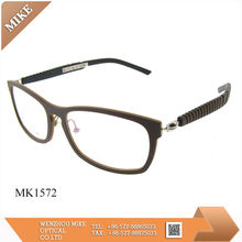 Latest fashion optical frames with silicon tips 2014 new style glasses frame