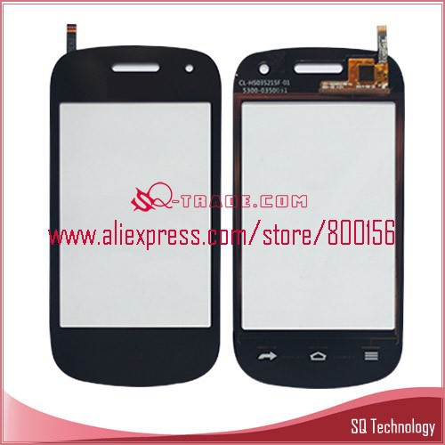 Mobile Phone for Blu Dash 3.5 II D352 Touch Digitizer black