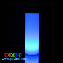 modern plastic LED lighting cylinder waterproof luminous outdoor LED light