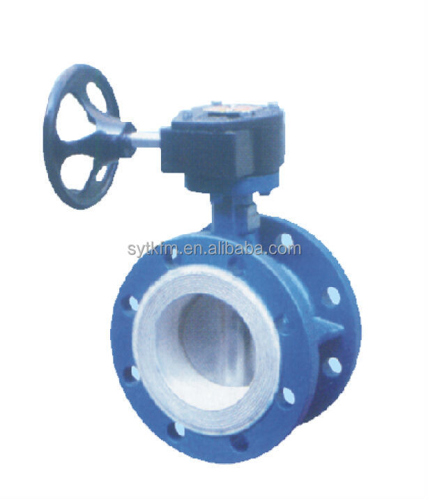 Professional factory supply gear operated butterfly valve weight with Gost certificate