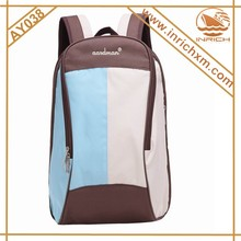Wholesale mummy backpack with changing mat blue,orange,pink