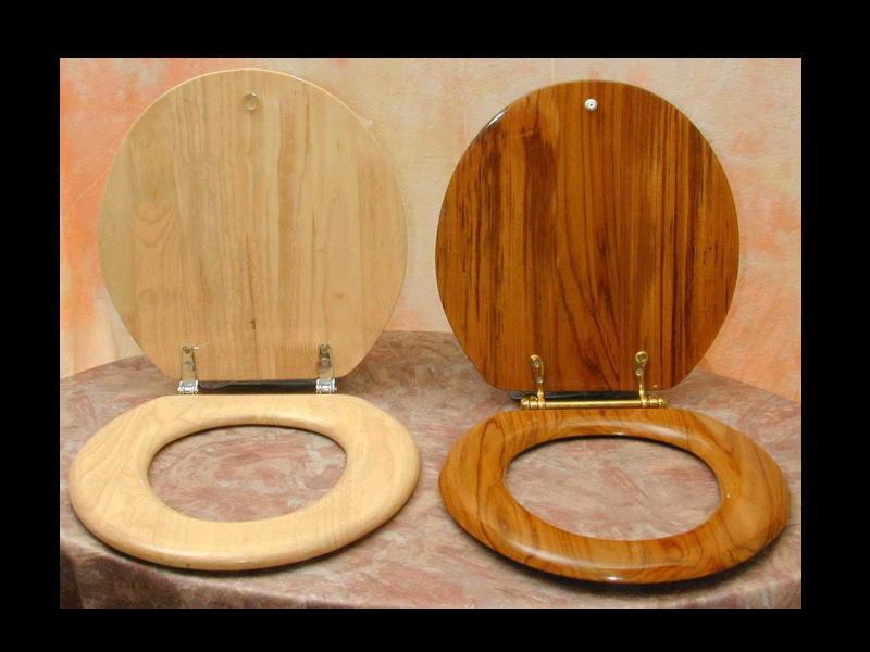Wooden Toilet Seat Covers Silverdale Traditional Luxury Dark Oak