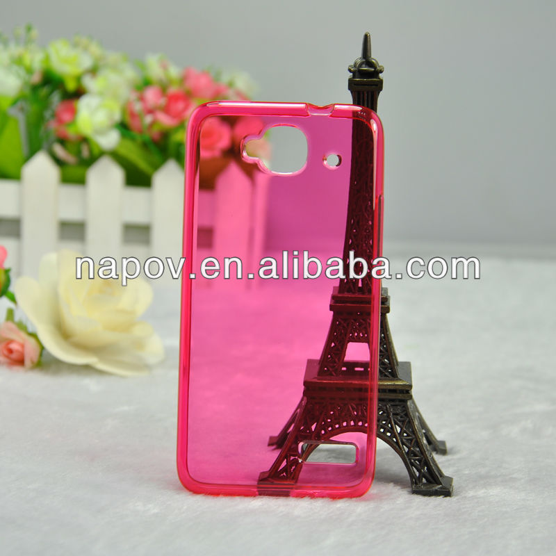 New Products 2014 Gel TPU Cases for Alcatel OT6012 Mobile Phone