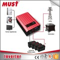 MUST energy supply 24v 48v 6kw grid off power inverter 230VDC